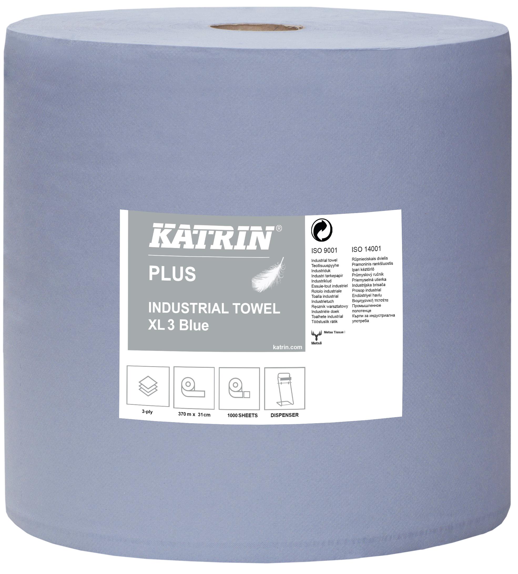 Katrin Plus Industrial Towel XL3 Blue