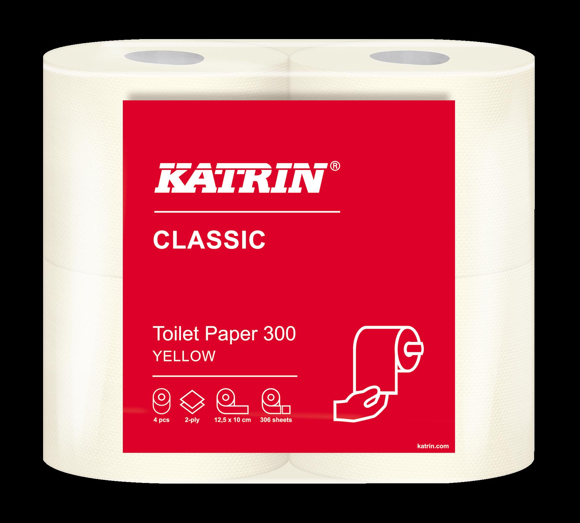 Katrin Classic Toilet 300 Yellow