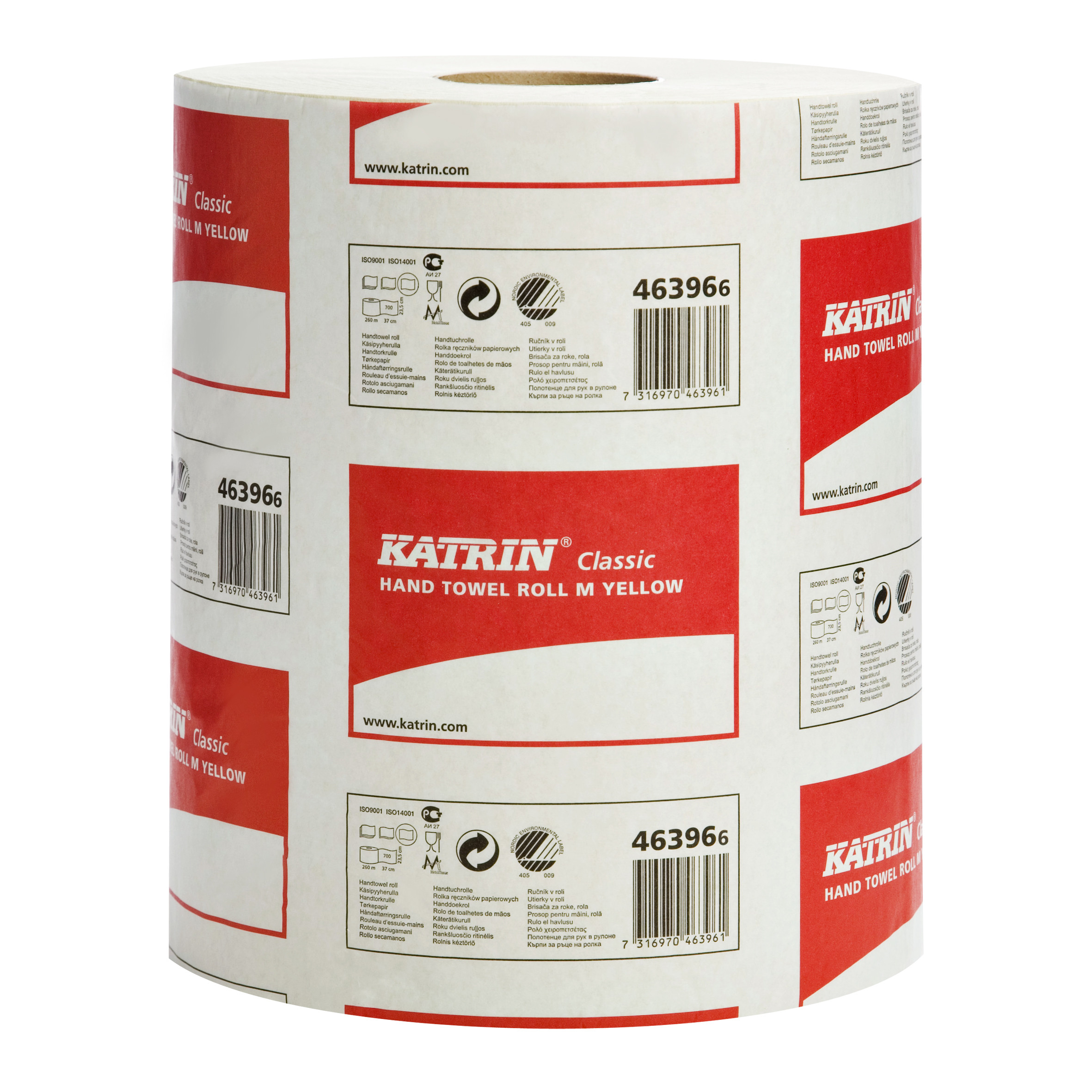 Katrin Classic Hand Towel Roll M Yellow