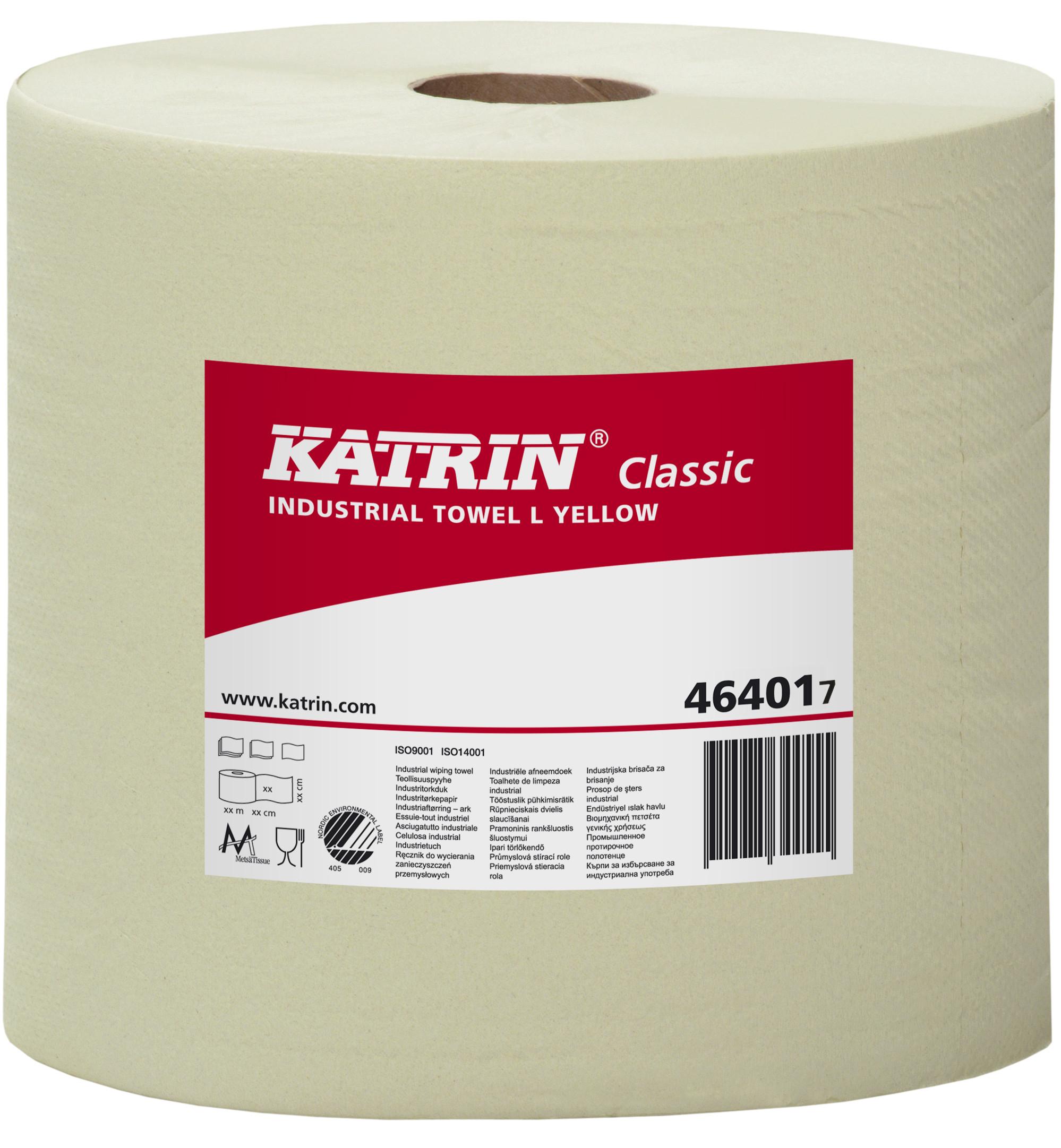 Katrin Classic Industrial Towel L Yellow