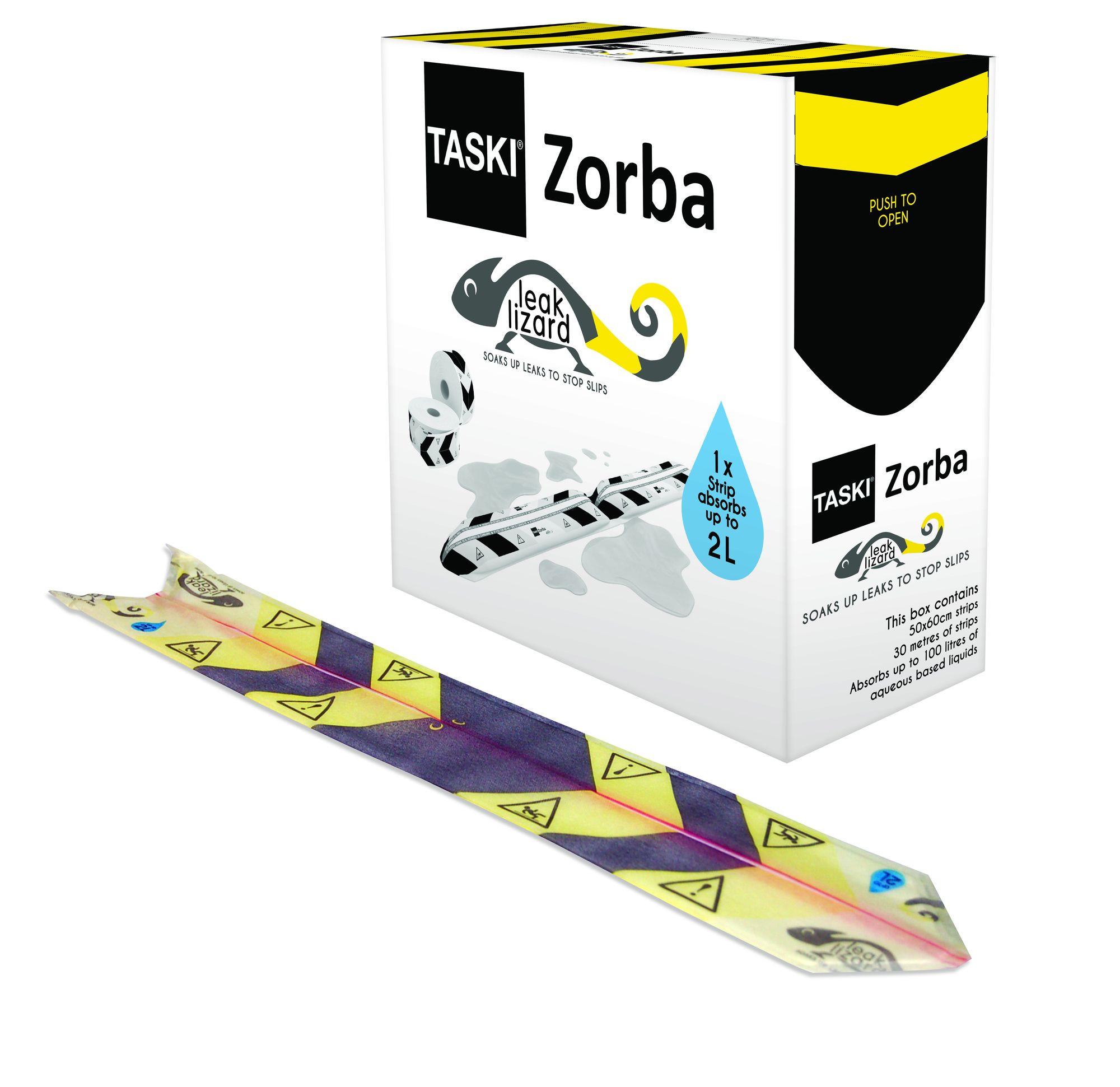 Zorba -nesteiden imeytysnauha