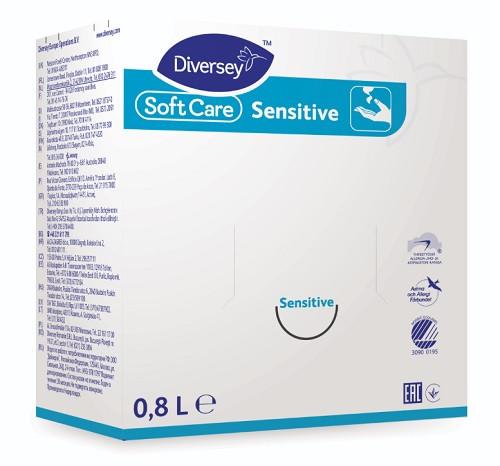 Soft Care Sensitive H2 käsien ja ihon pesuneste 800ml