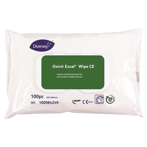Oxivir Excel Wipe desinfektiopyyhe 100kpl